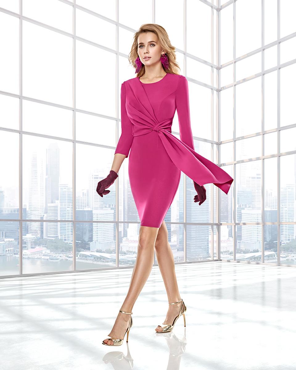 Long dress. Fall-Winter Capsule 2020 Collection 2020. Sonia Peña - Ref. 2200001