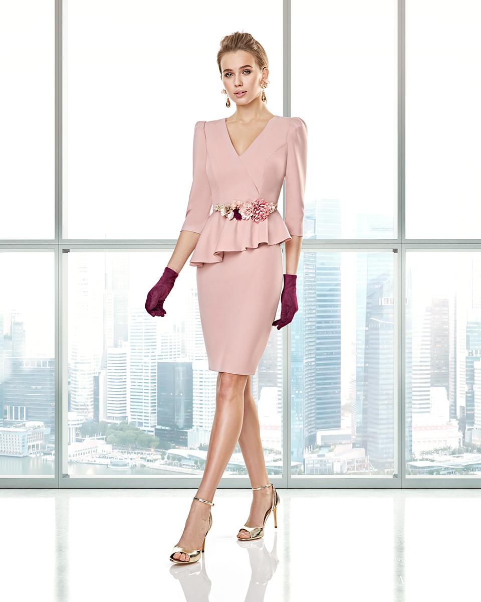 Long dress. Fall-Winter Capsule 2020 Collection 2020. Sonia Peña - Ref. 2200002