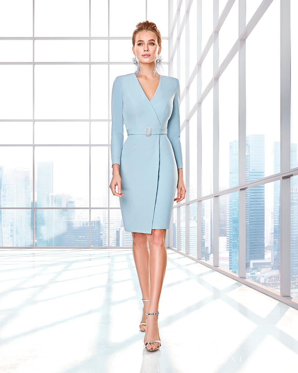 Long dress. Fall-Winter Capsule 2020 Collection 2020. Sonia Peña - Ref. 2200004