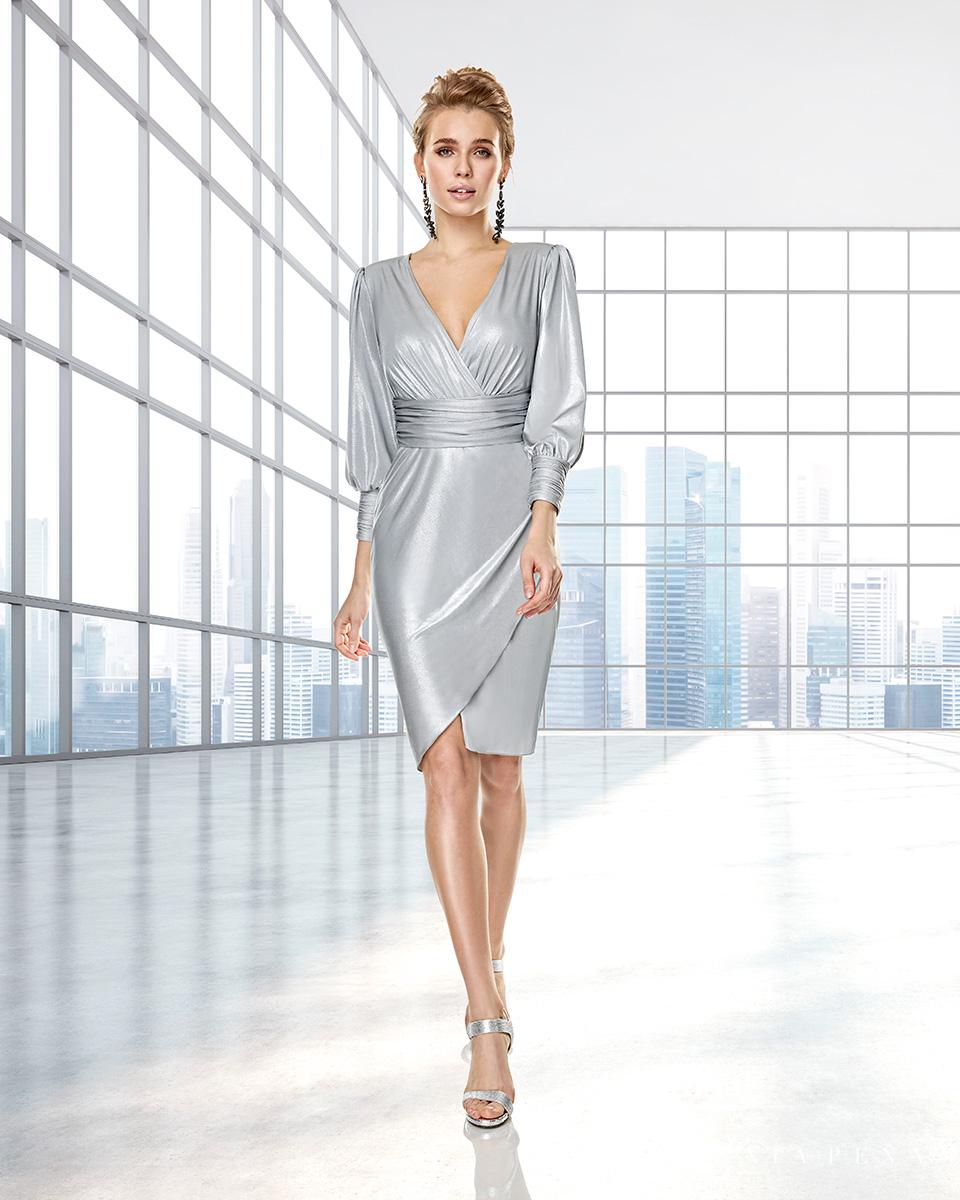 Robes de soirée, robes de Mére de la mariee. Complete 2020 Collection Automne Hiver Capsule 2020. Sonia Peña - Ref. 2200007A