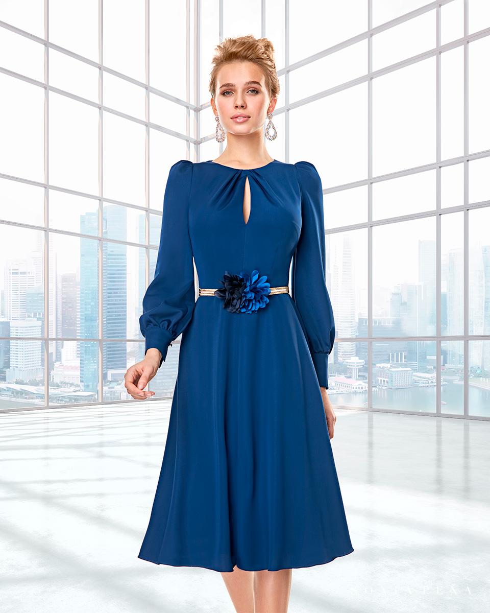 Long dress. Fall-Winter Capsule 2020 Collection 2020. Sonia Peña - Ref. 2200011