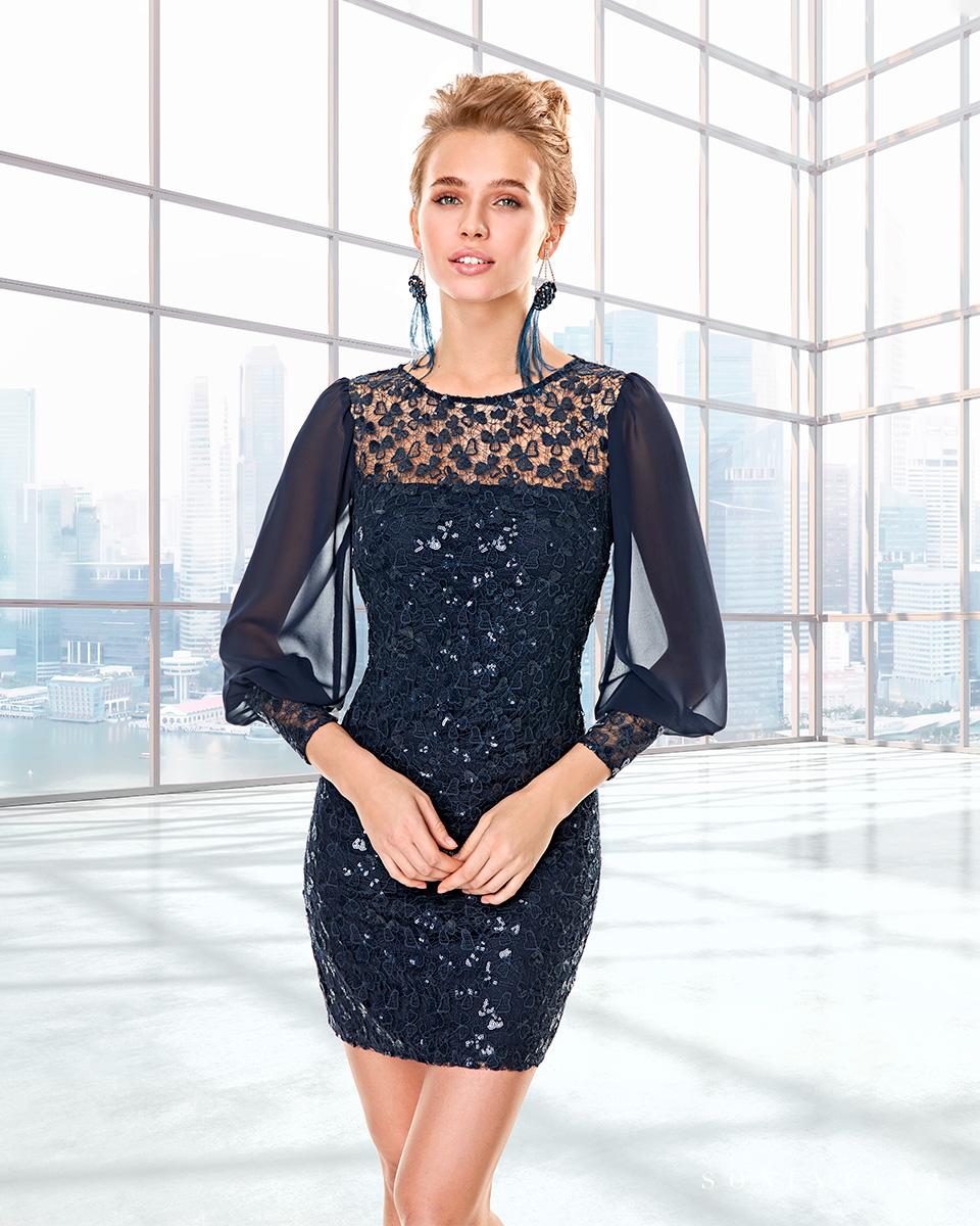 Long dress. Fall-Winter Capsule 2020 Collection 2020. Sonia Peña - Ref. 2200012