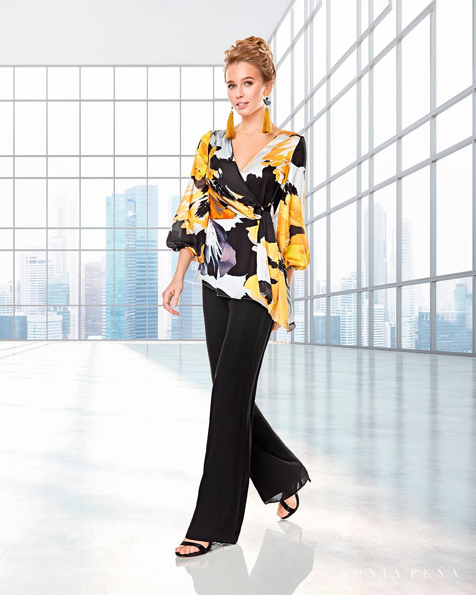 Vestido de casaco. Colecção Outono-Inverno Capsule 2020. Sonia Peña - Ref. 2200014