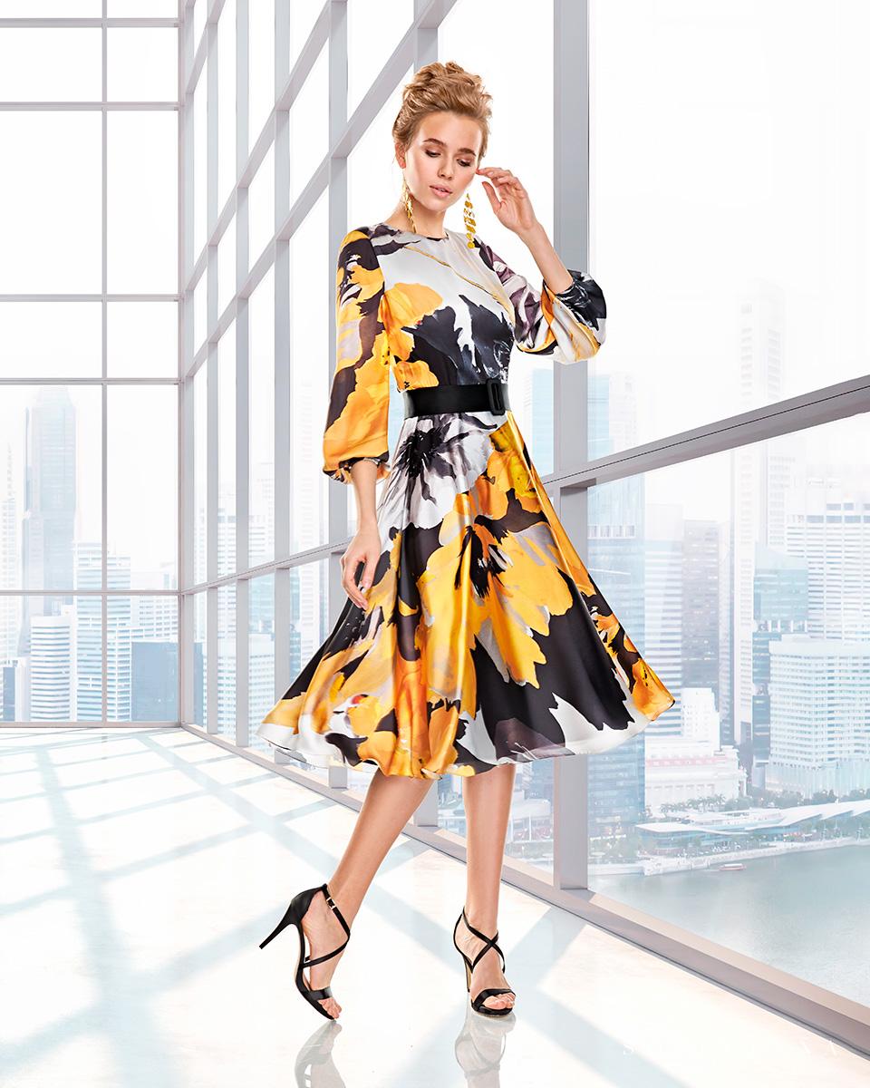 Robes de soirée, robes de Mére de la mariee. Complete 2020 Collection Automne Hiver Capsule 2020. Sonia Peña - Ref. 2200015A