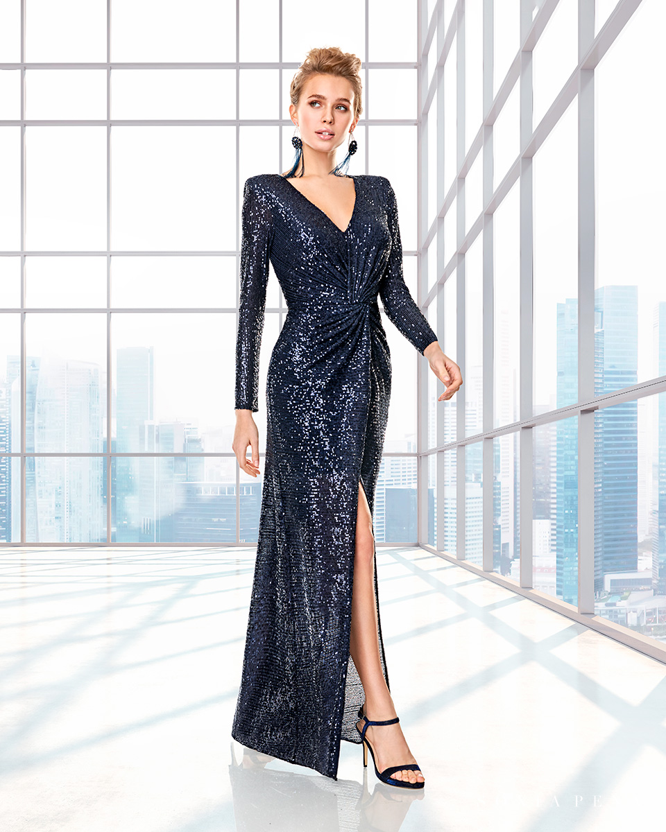 Long dress. Fall-Winter Capsule 2020 Collection 2020. Sonia Peña - Ref. 2200017