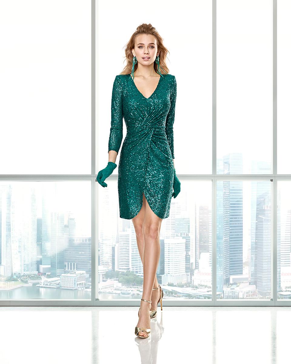 Robes de soirée, robes de Mére de la mariee. Complete 2020 Collection Automne Hiver Capsule 2020. Sonia Peña - Ref. 2200017A