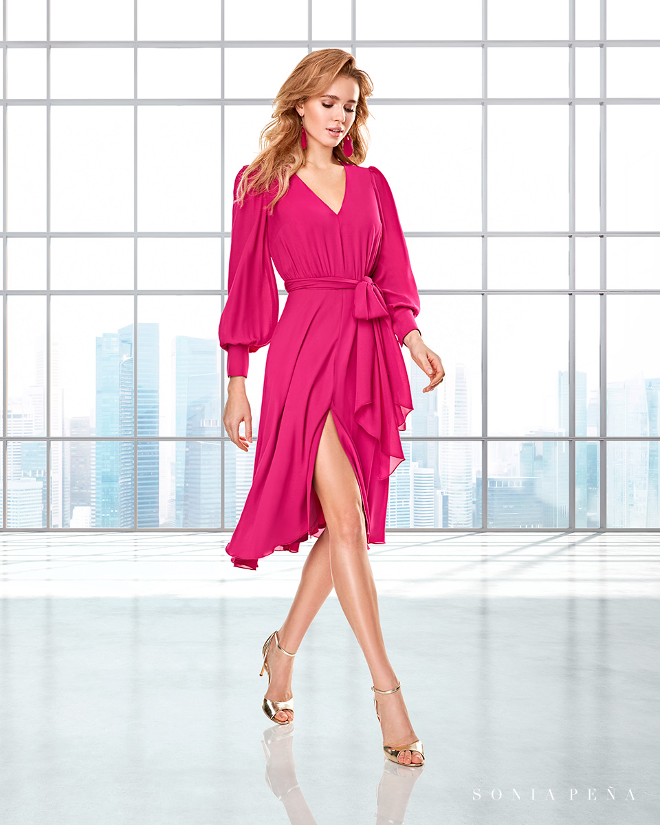 Long dress. Fall-Winter Capsule 2020 Collection 2020. Sonia Peña - Ref. 2200023