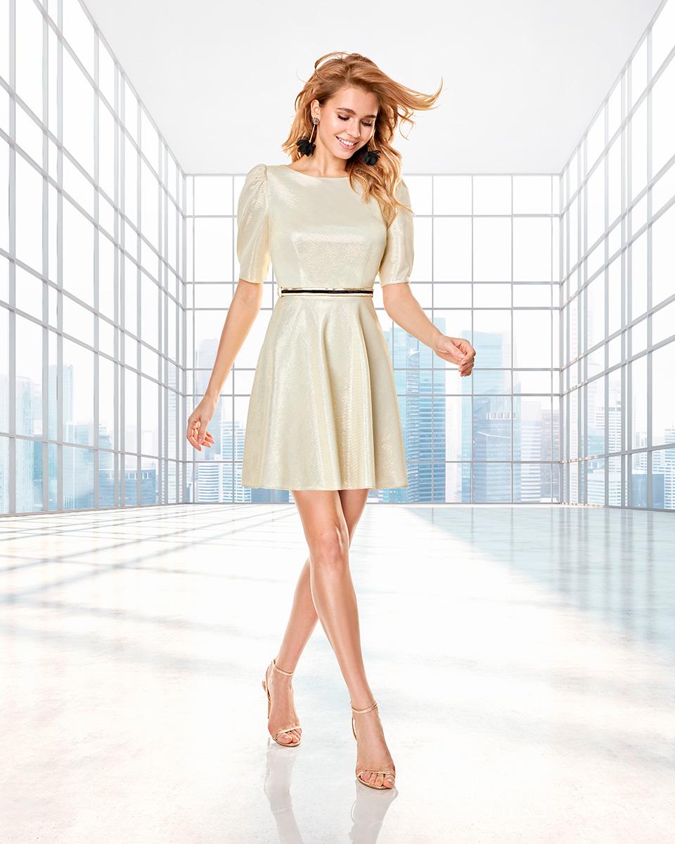 Long dress. Fall-Winter Capsule 2020 Collection 2020. Sonia Peña - Ref. 2200026