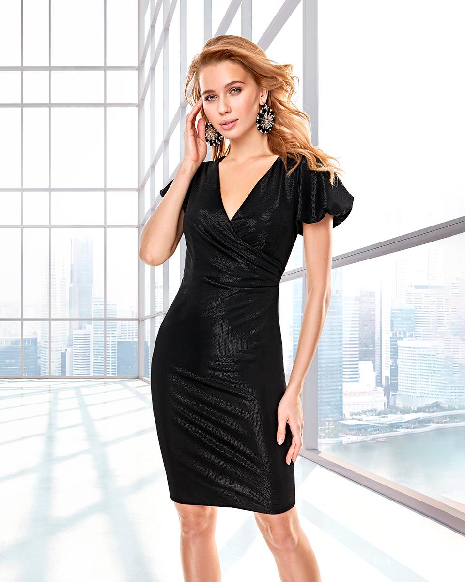 Long dress. Fall-Winter Capsule 2020 Collection 2020. Sonia Peña - Ref. 2200028