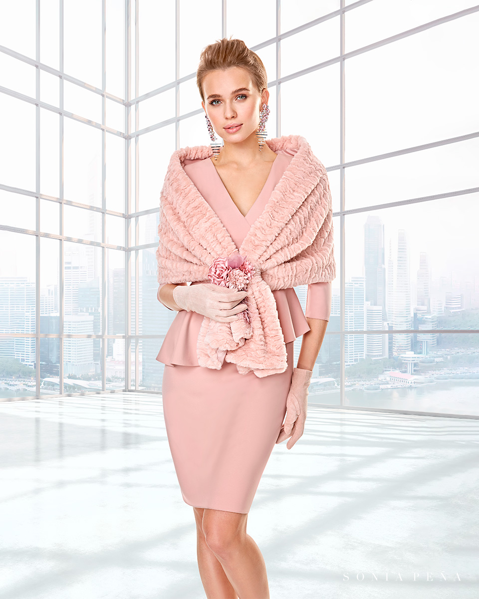 Vestido de casaco. Colecção Outono-Inverno Capsule 2020. Sonia Peña - Ref. 2200035