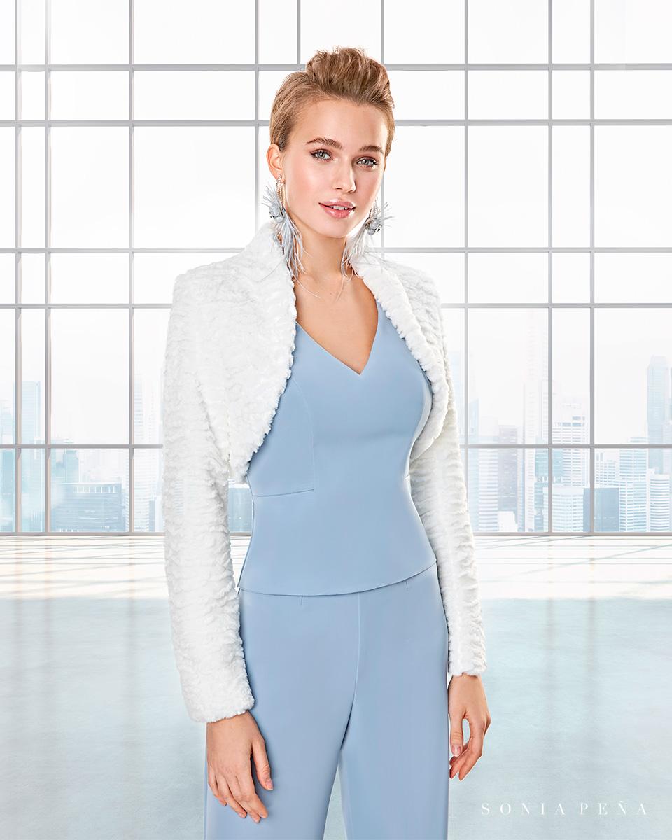Party Kleider, Mutter der Brautkleiderm Cocktailkleider. Herbst-Winter-Kollektion Capsule 2020. Sonia Peña - Ref. 2200037