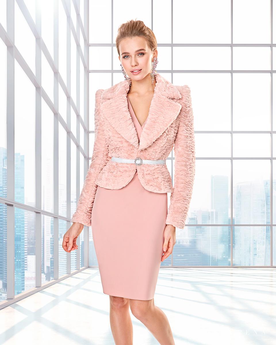 Vestido de casaco. Colecção Outono-Inverno Capsule 2020. Sonia Peña - Ref. 2200038