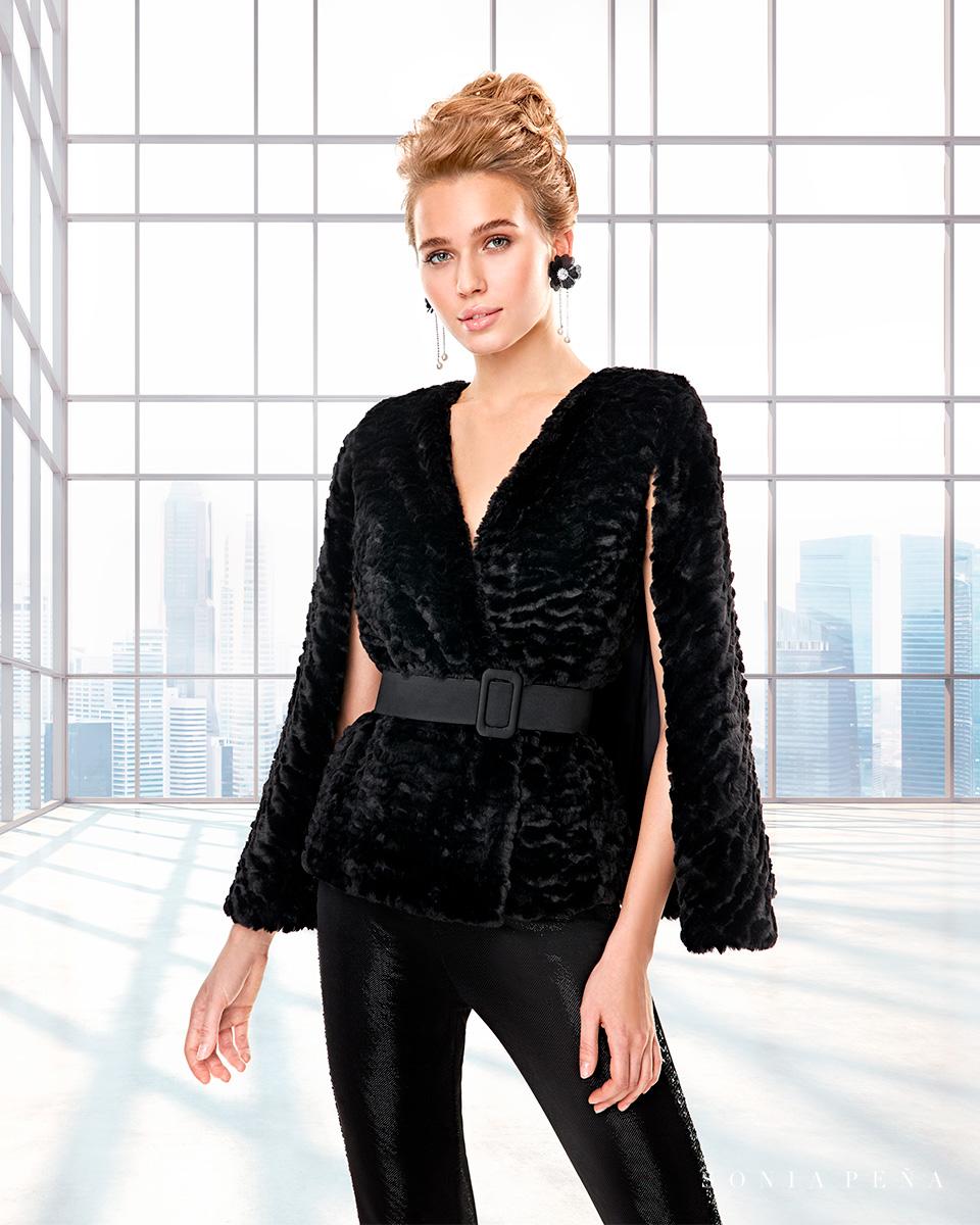 Vestido de casaco. Colecção Outono-Inverno Capsule 2020. Sonia Peña - Ref. 2200039