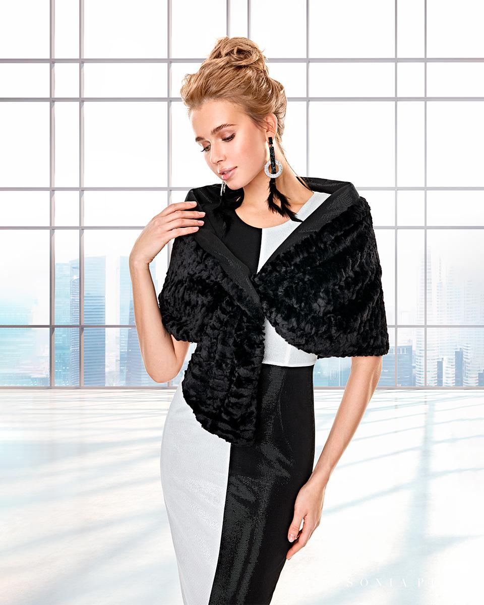 Vestido de casaco. Colecção Outono-Inverno Capsule 2020. Sonia Peña - Ref. 2200041