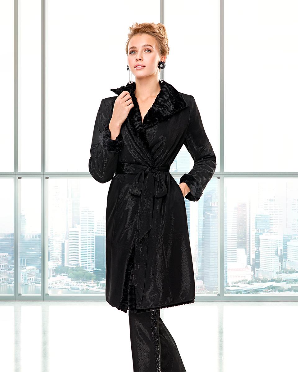 Vestido de casaco. Colecção Outono-Inverno Capsule 2020. Sonia Peña - Ref. 2200042