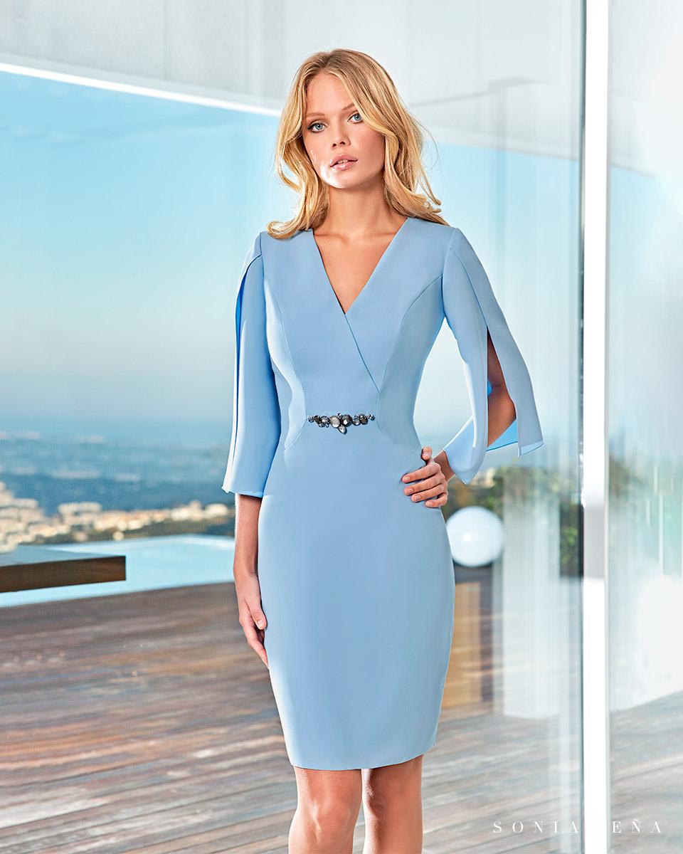 Short dress. Spring-Summer Solar Collection 2021. Sonia Peña - Ref. 1210004A