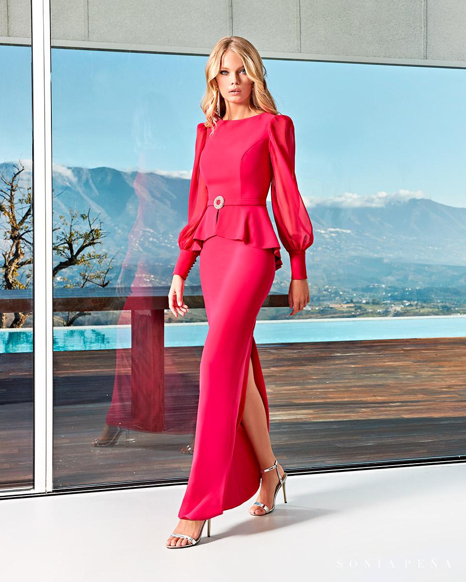 Long dress. Spring-Summer Solar Collection 2021. Sonia Peña - Ref. 1210005