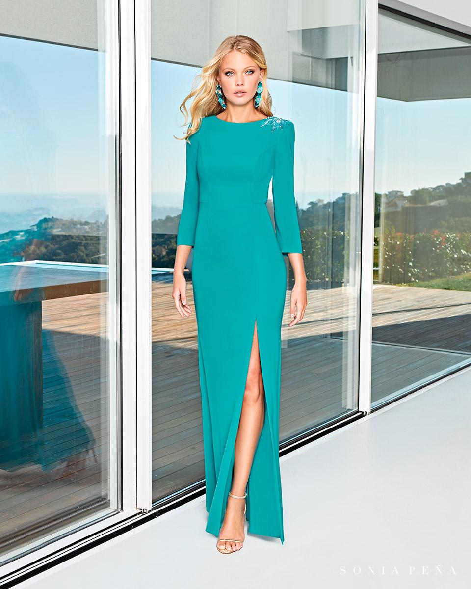 Long dress. Spring-Summer Solar Collection 2021. Sonia Peña - Ref. 1210006