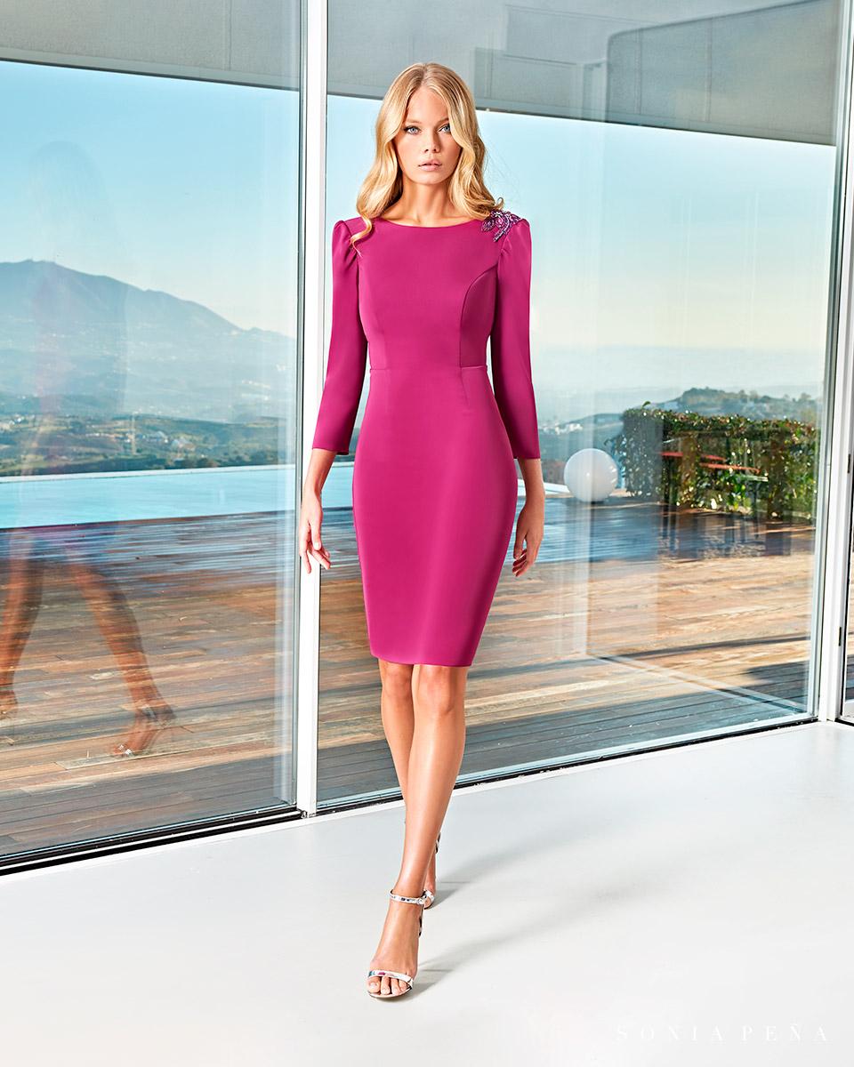 Short dress. Spring-Summer Solar Collection 2021. Sonia Peña - Ref. 1210006A