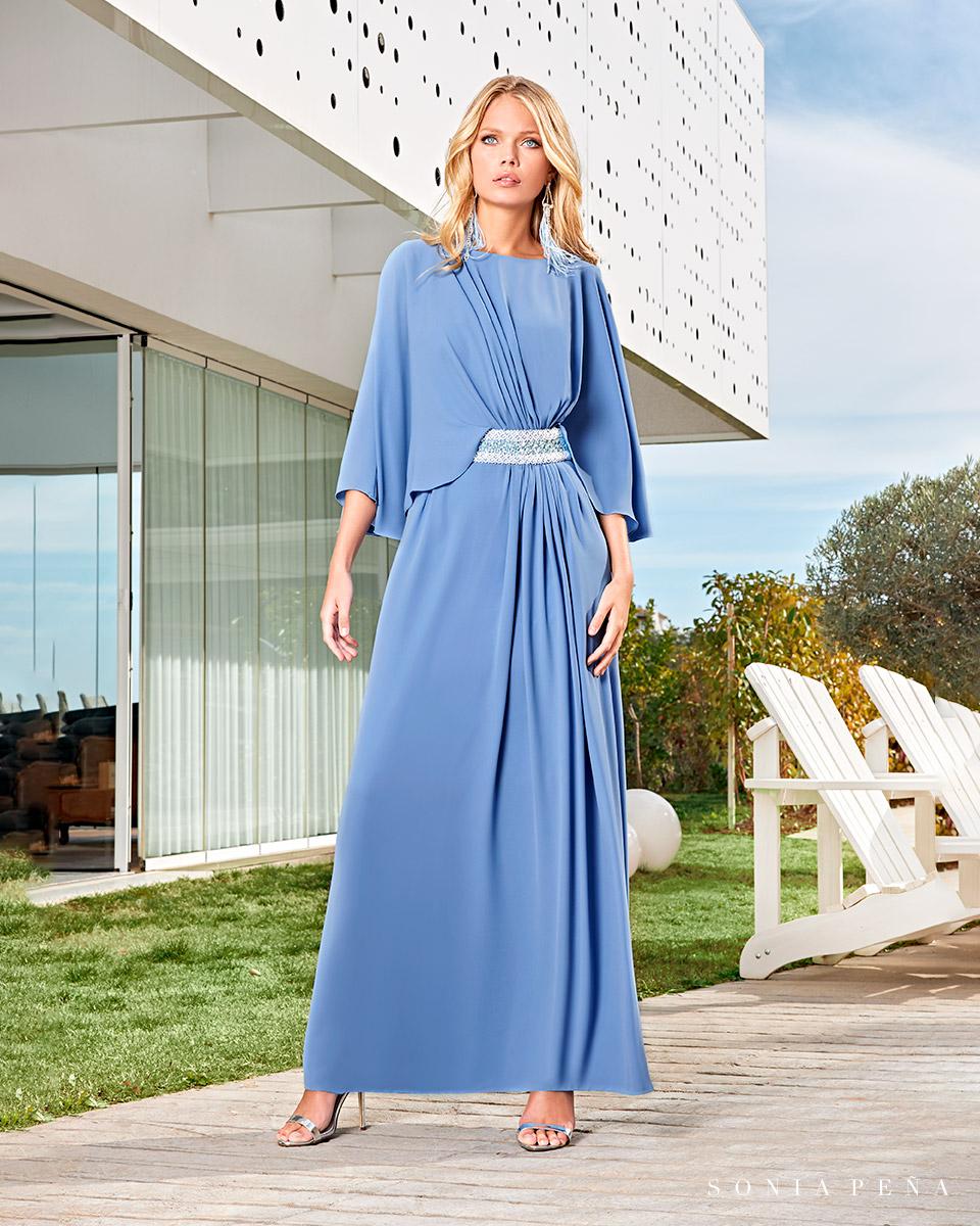 Long dress. Spring-Summer Solar Collection 2021. Sonia Peña - Ref. 1210008