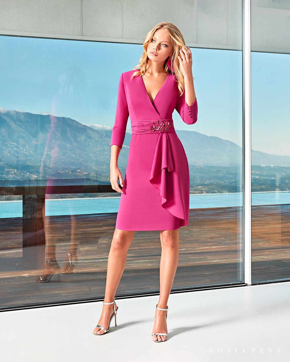 Short dress. Spring-Summer Solar Collection 2021. Sonia Peña - Ref. 1210009A