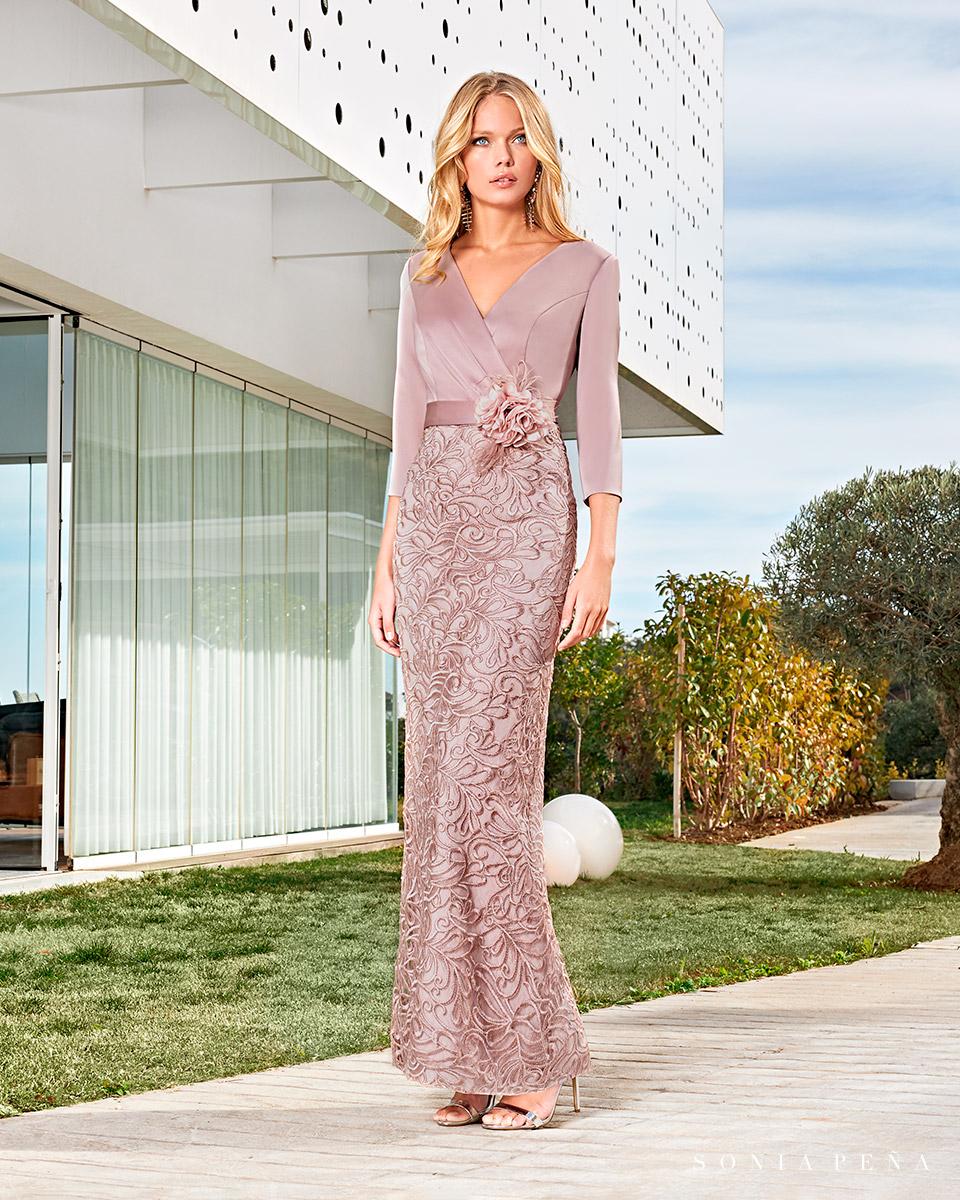 Long dress. Spring-Summer Solar Collection 2021. Sonia Peña - Ref. 1210010
