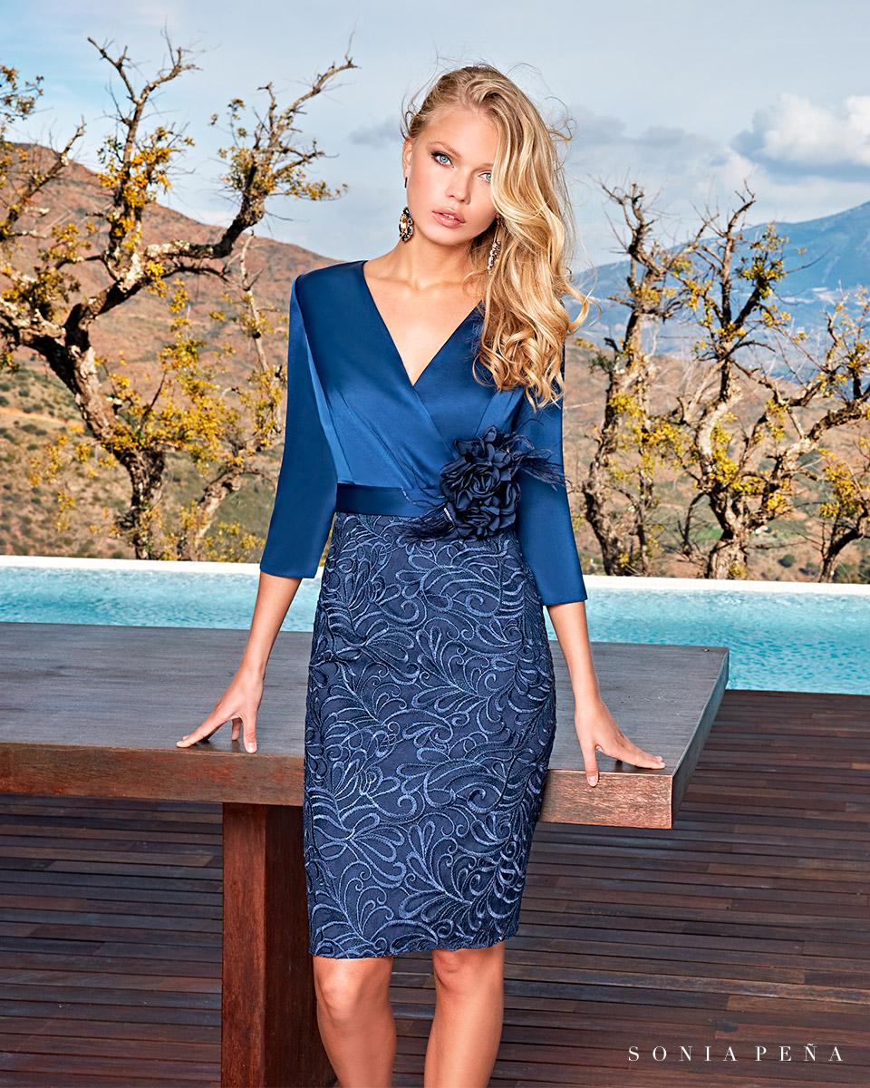 Short dress. Spring-Summer Solar Collection 2021. Sonia Peña - Ref. 1210010A
