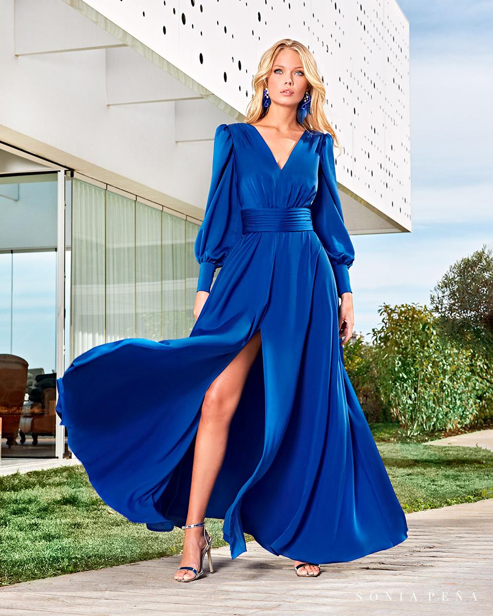 Long dress. Spring-Summer Solar Collection 2021. Sonia Peña - Ref. 1210011