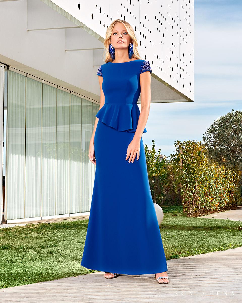 Long dress. Spring-Summer Solar Collection 2021. Sonia Peña - Ref. 1210012