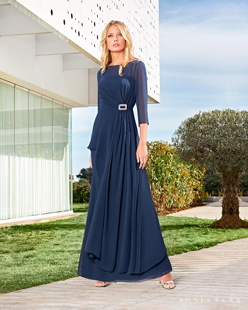 Long dress. Spring-Summer Solar Collection 2021. Sonia Peña - Ref. 1210013