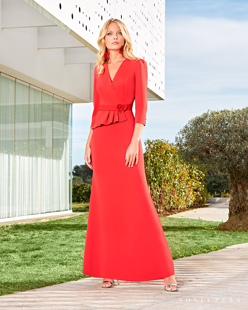 Party dress, Cocktail Dresses, Mother of the bride dresses. Complete Spring-Summer Solar Collection 2021. Sonia Peña - Ref. 1210014