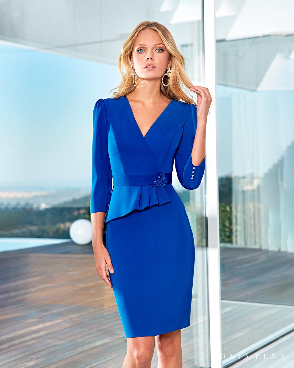 Short dress. Spring-Summer Solar Collection 2021. Sonia Peña - Ref. 1210014A