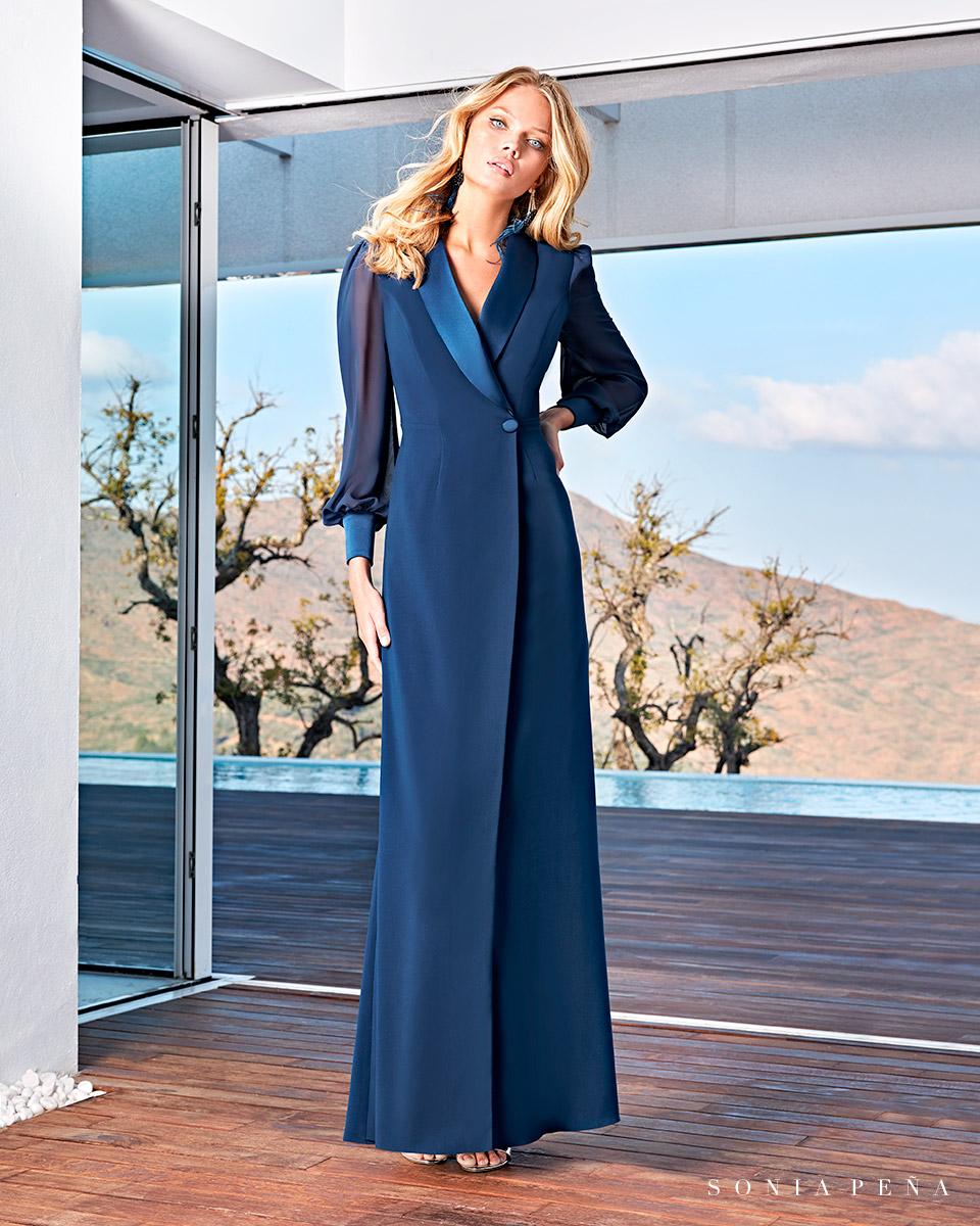 Long dress. Spring-Summer Solar Collection 2021. Sonia Peña - Ref. 1210017