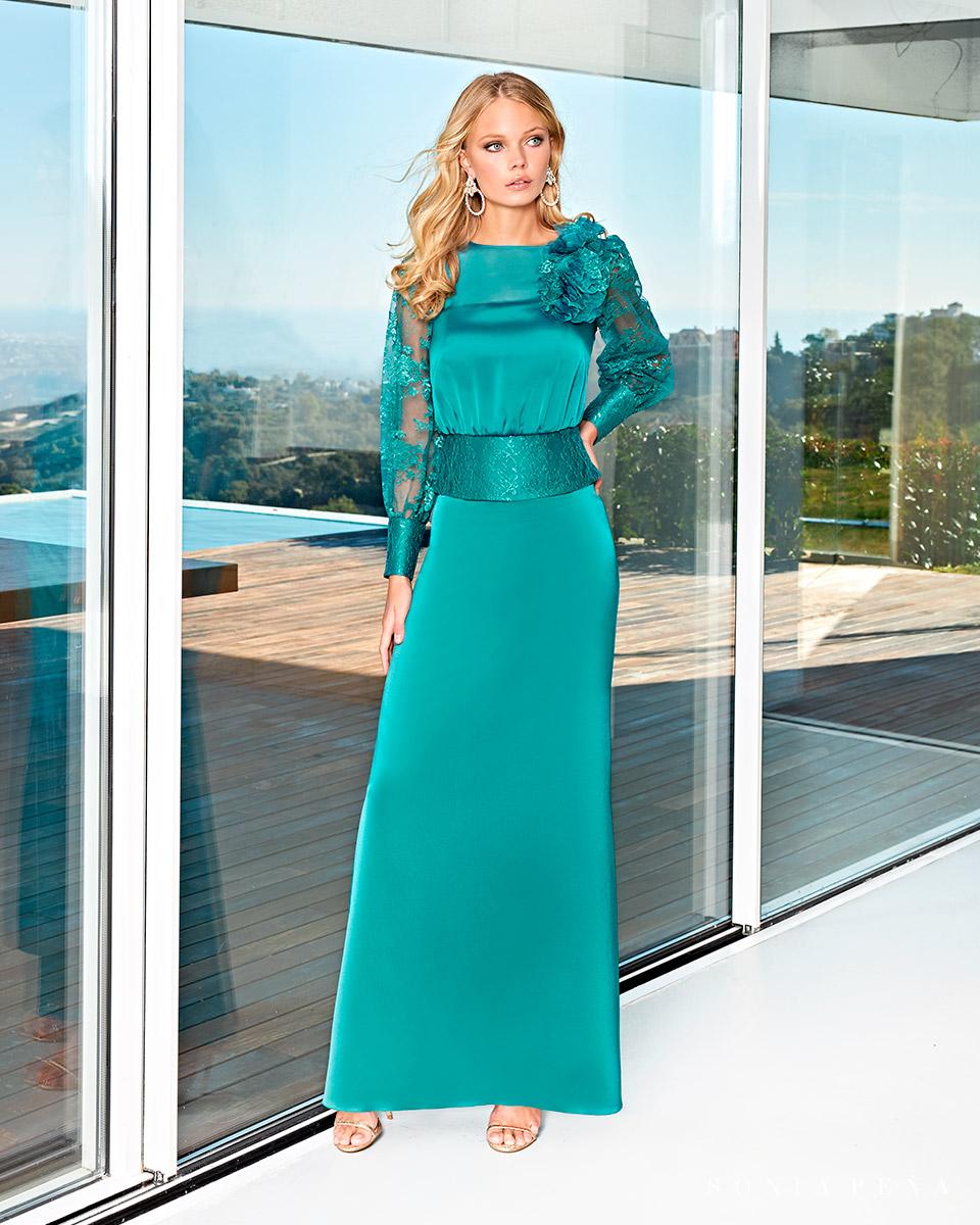 Long dress. Spring-Summer Solar Collection 2021. Sonia Peña - Ref. 1210021