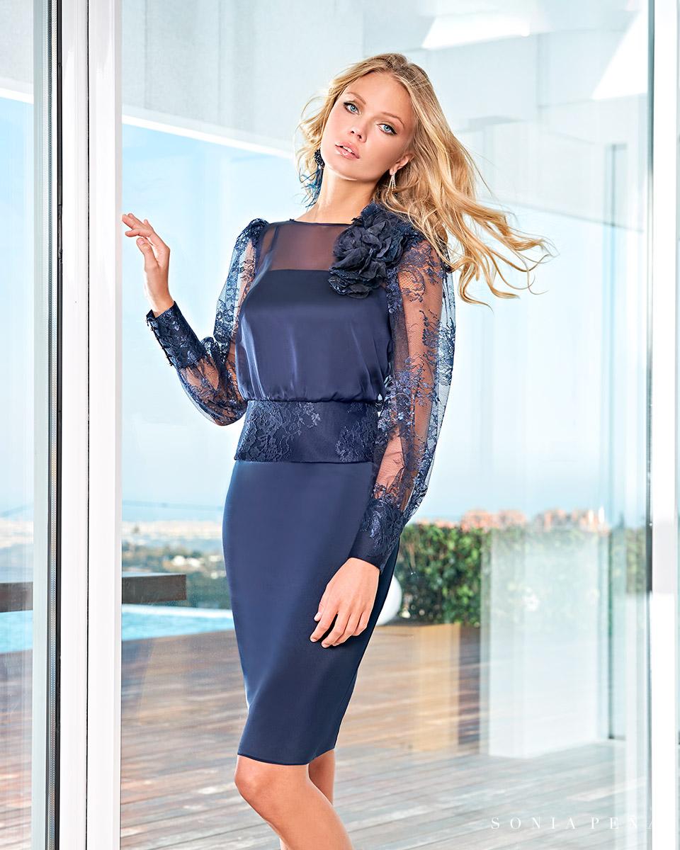 Short dress. Spring-Summer Solar Collection 2021. Sonia Peña - Ref. 1210021A