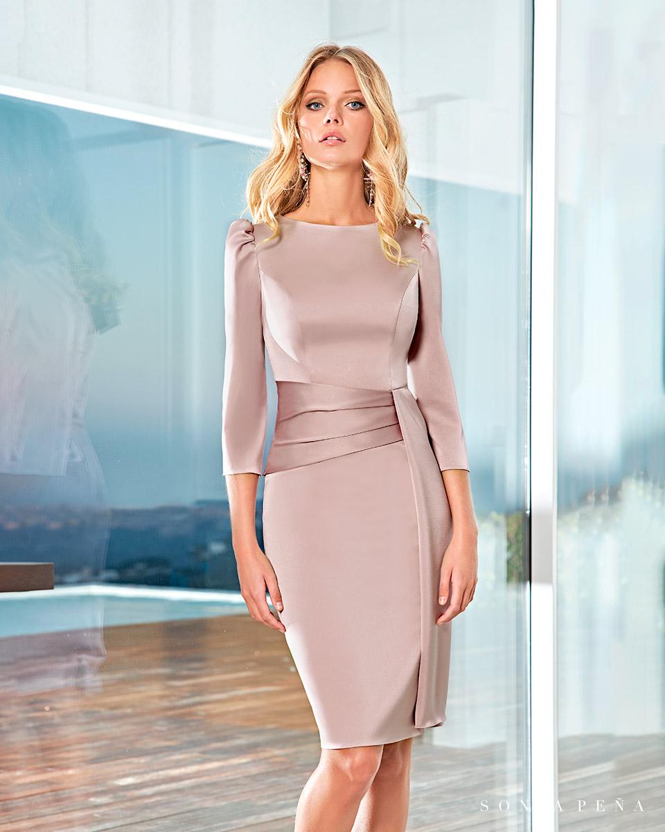 Short dress. Spring-Summer Solar Collection 2021. Sonia Peña - Ref. 1210022A