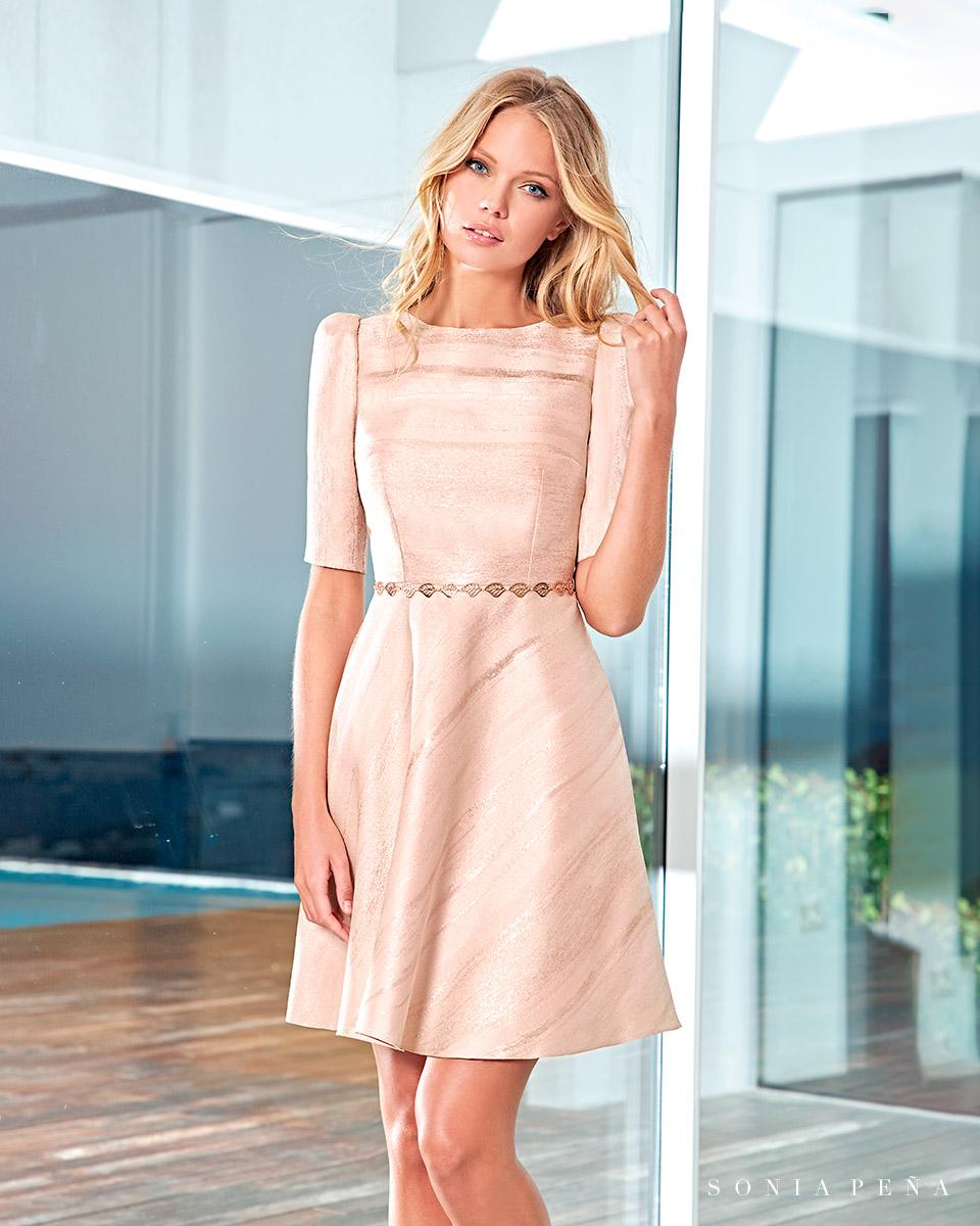 Short dress. Spring-Summer Solar Collection 2021. Sonia Peña - Ref. 1210037