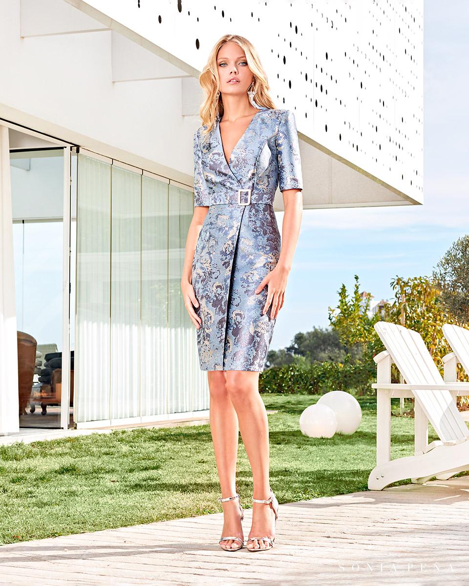 Short dress. Spring-Summer Solar Collection 2021. Sonia Peña - Ref. 1210039A