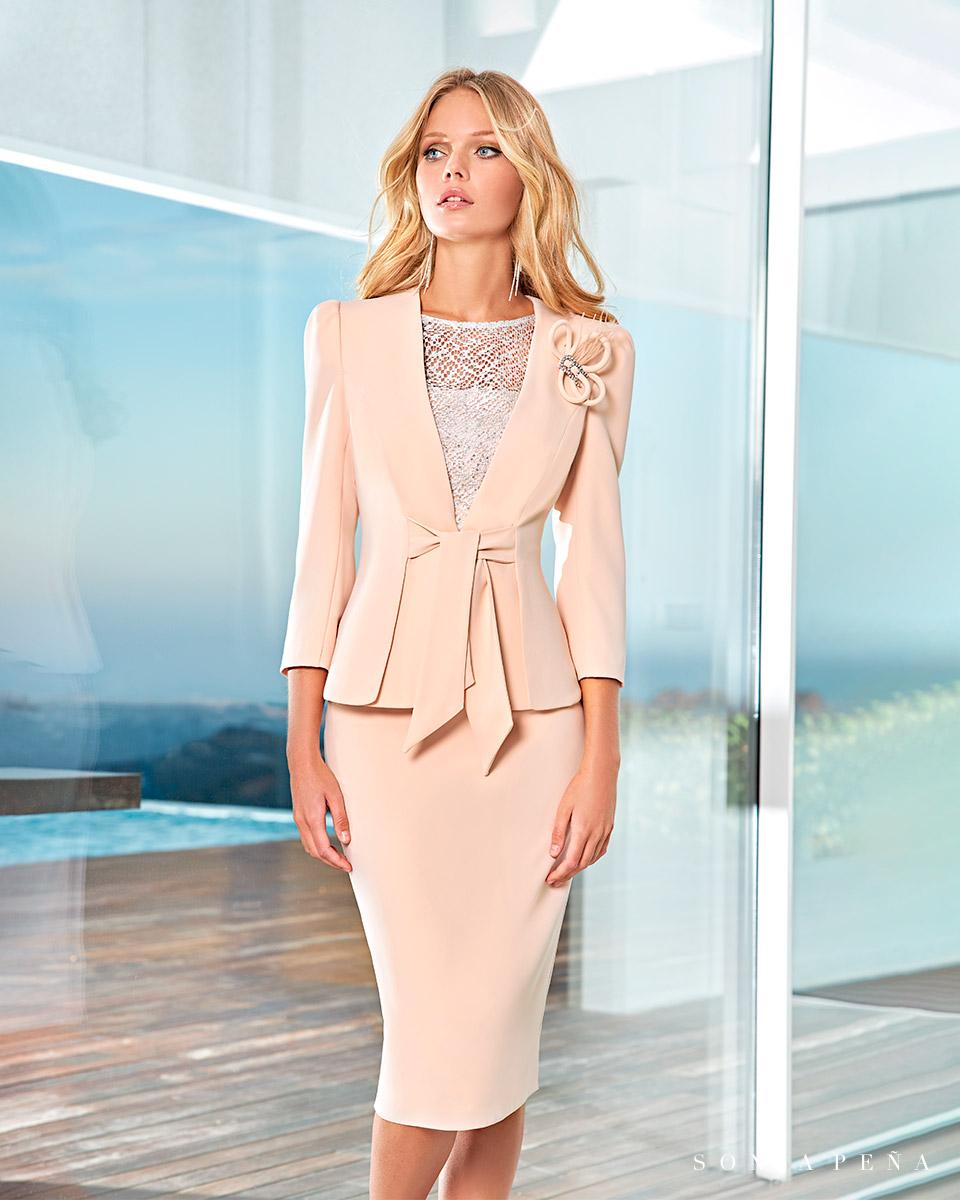 Party Kleider, Mutter der Brautkleiderm Cocktailkleider. Frühling-Sommer-Kollektion 2021. Sonia Peña - Ref. 1210040