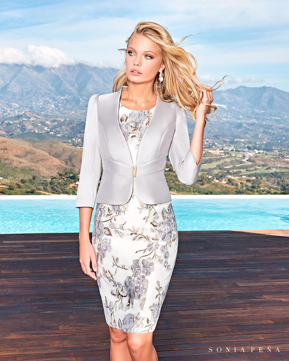 Party Kleider, Mutter der Brautkleiderm Cocktailkleider. Frühling-Sommer-Kollektion 2021. Sonia Peña - Ref. 1210049