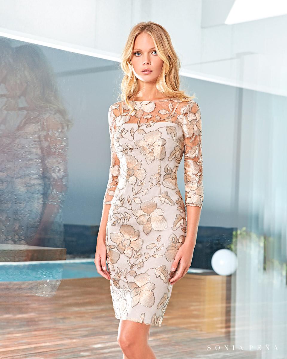 Short dress. Spring-Summer Solar Collection 2021. Sonia Peña - Ref. 1210051A