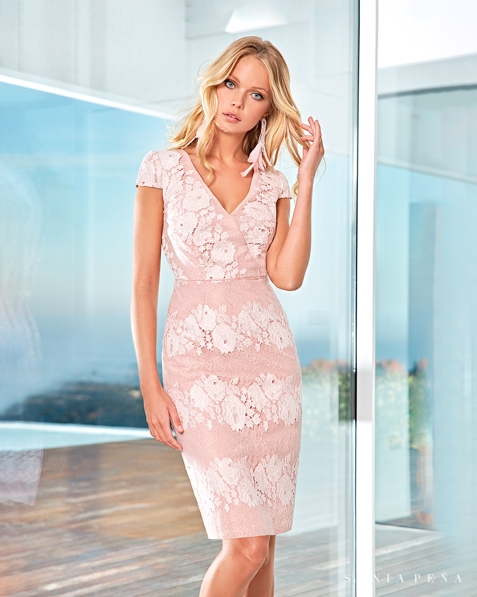 Party Kleider, Mutter der Brautkleiderm Cocktailkleider. Frühling-Sommer-Kollektion 2021. Sonia Peña - Ref. 1210053A