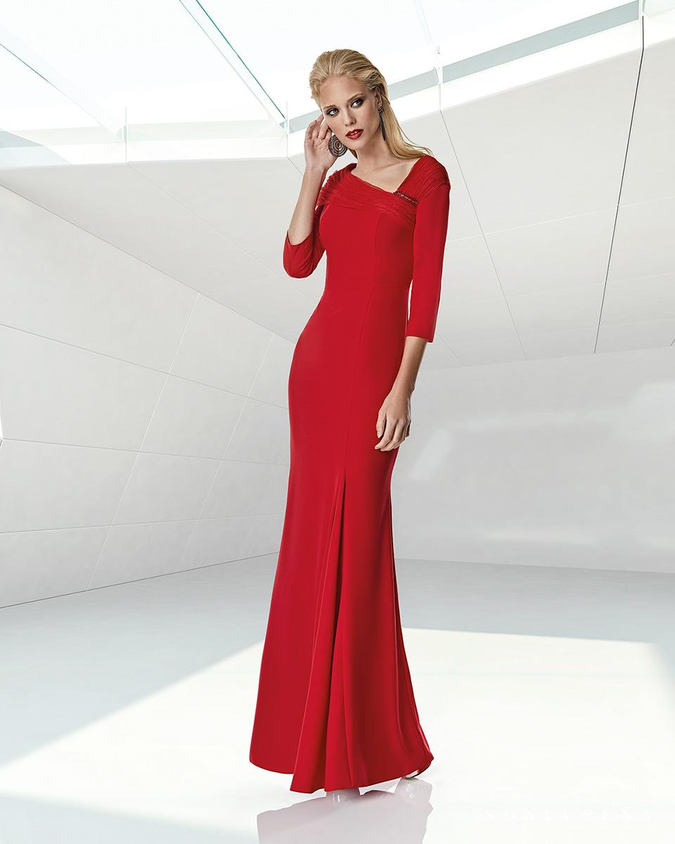 Long dress. Spring-Summer Trece Lunas Collection 2020. Sonia Peña - Ref. 1200005