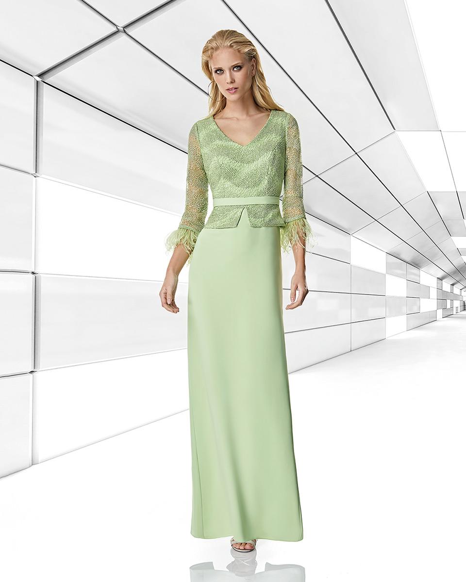 Robe longue, 2020 Collection Printemps Eté Trece Lunas. Sonia Peña - Ref. 1200006