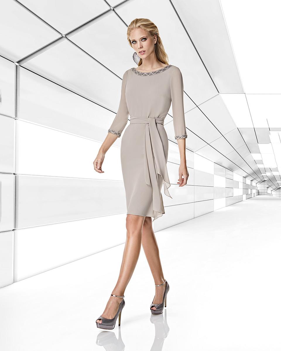 Short dress. Spring-Summer Trece Lunas Collection 2020. Sonia Peña - Ref. 1200013A