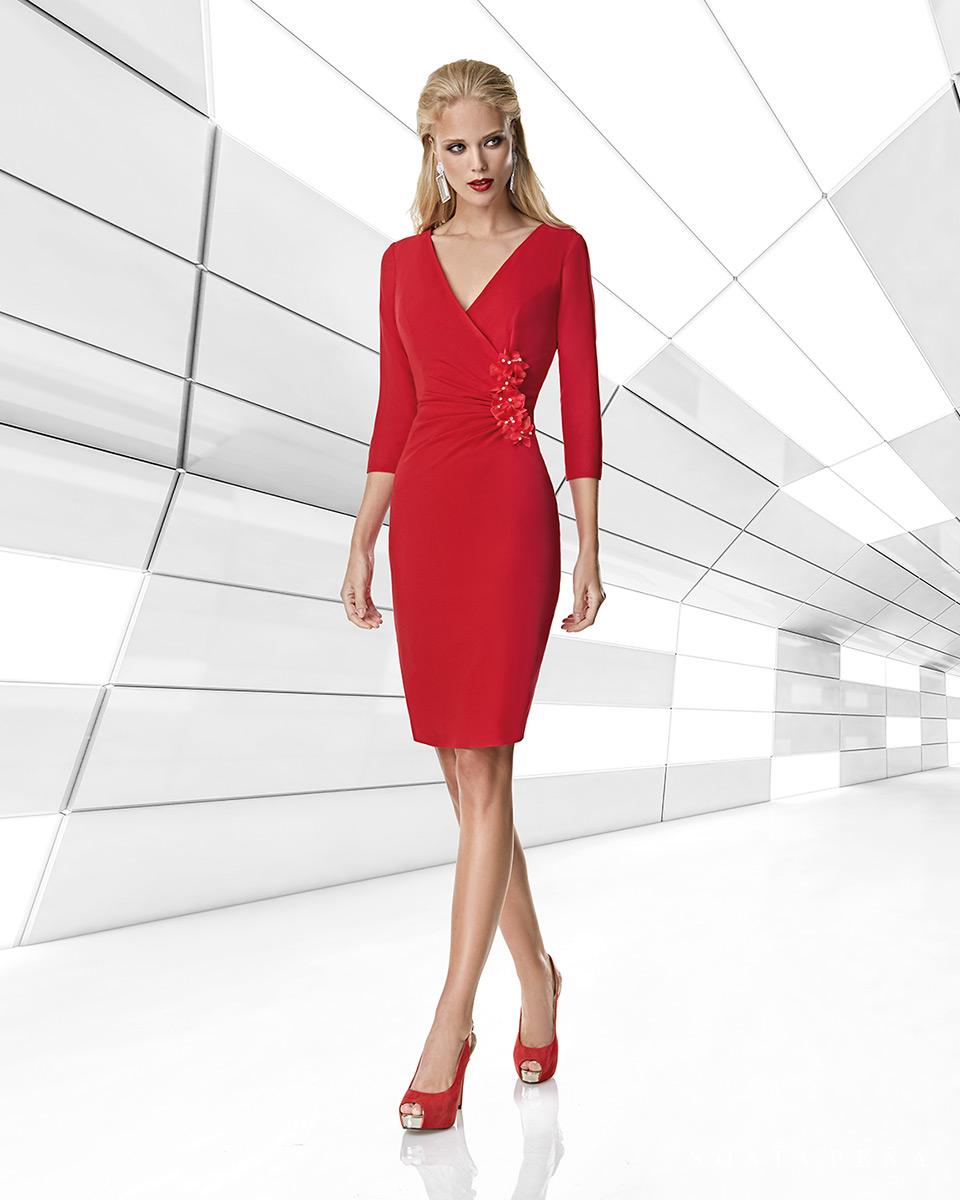 Short dress. Spring-Summer Trece Lunas Collection 2020. Sonia Peña - Ref. 1200014A