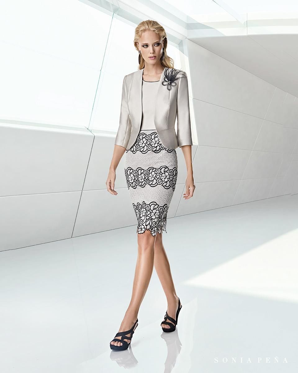Jacket dress. Spring-Summer Trece Lunas Collection 2020. Sonia Peña - Ref. 1200033