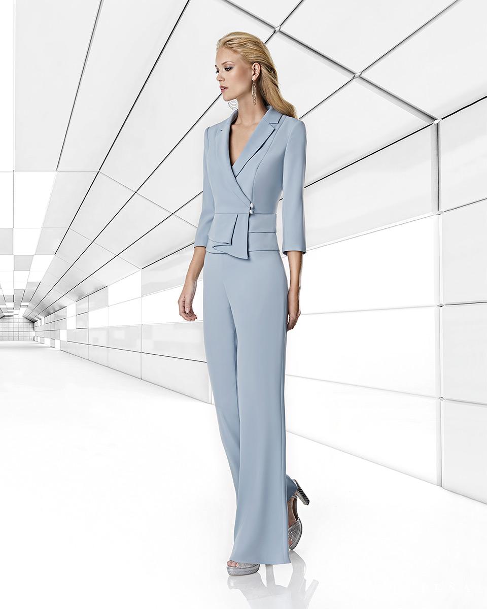 Robes de soirée, robes de Mére de la mariee. Complete 2020 Collection Printemps Eté Trece Lunas. Sonia Peña - Ref. 1200034