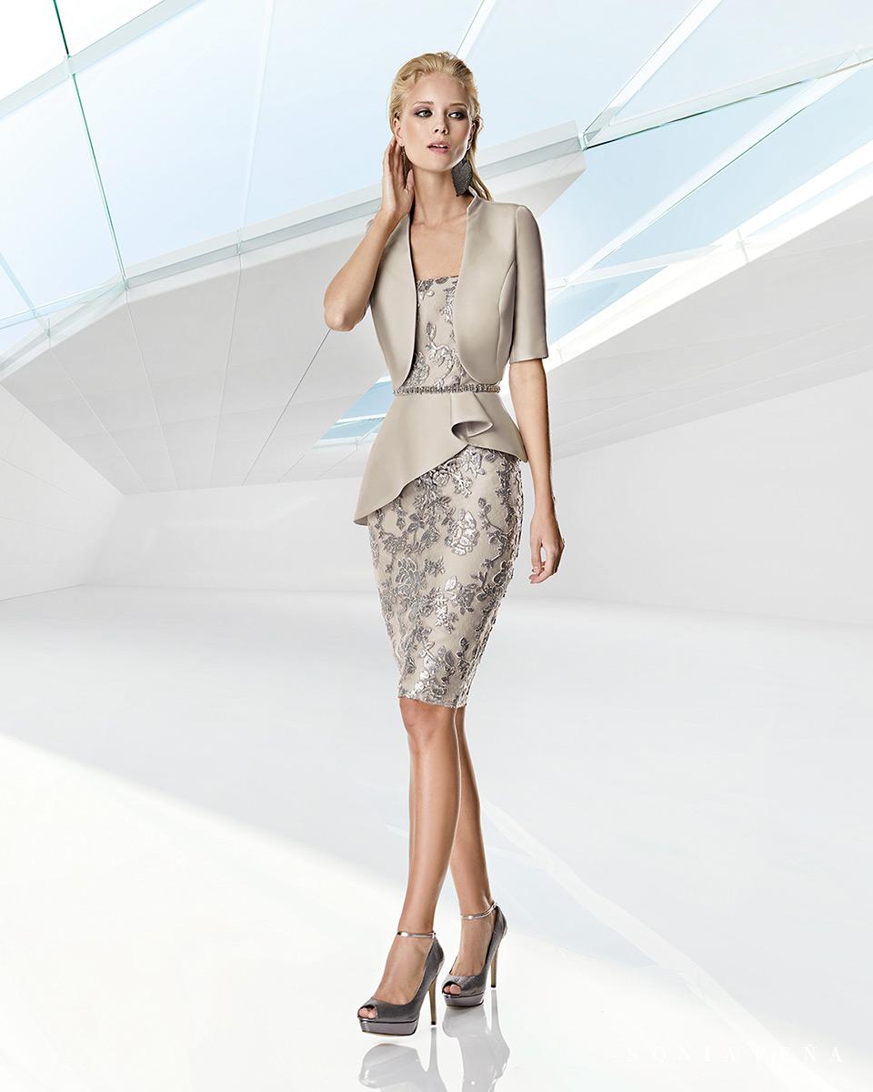 Jacket dress. Spring-Summer Trece Lunas Collection 2020. Sonia Peña - Ref. 1200036