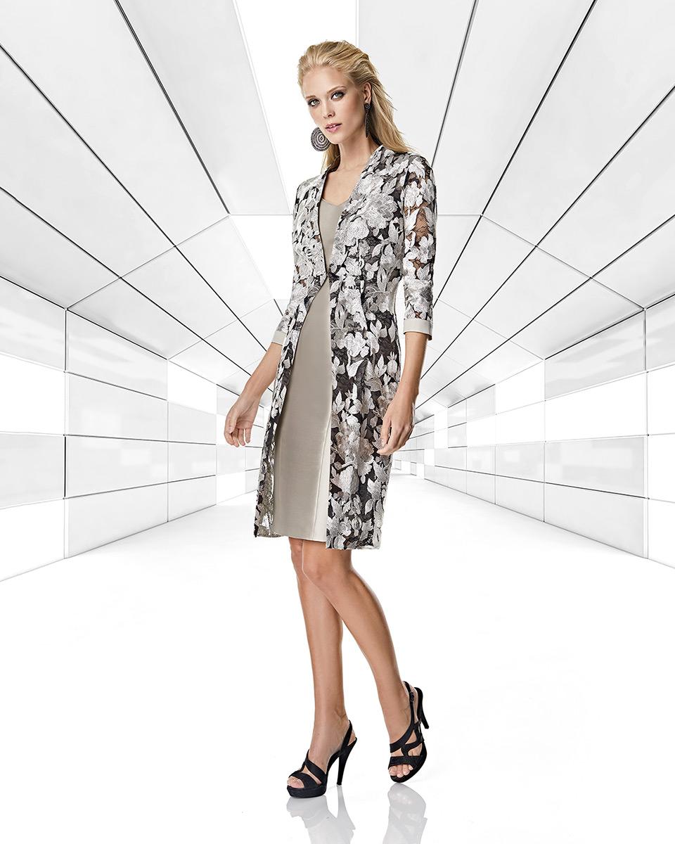 Jacket dress. Spring-Summer Trece Lunas Collection 2020. Sonia Peña - Ref. 1200037